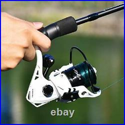 KastKing Crixus Fishing Rod and Reel Combo, Spinning, 5ft 6in, Light