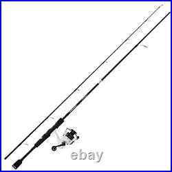 KastKing Crixus Fishing Rod and Reel Combo, Spinning, 7ft, Med Heavy, 2pcs, 3000