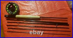 L L BEAN Spin Fly Combination Fishing Rod & ReelS COMBINATION TRAVEL PACK NEW