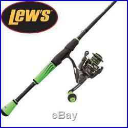 Lew's Mach 2 Speed Stick 6'9 Medium Fast Spinning Rod & Reel Combo M22069MFS