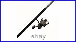 Medium Light Fishing Rod & Spinning Reel Combo for Big Saltwater Gamefish (6'6)