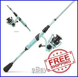 NEW! Abu Garcia REVO X LTD Spinning Rod/Reel Fishing Combo, Seafoam