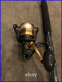 NEW PENN Spinfisher V 6500 Fishing Rod Reel Combo SSV3080S66 HT-100 Slammer Drag