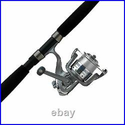 New Saltwater Fishing Rod Combo And Cardinal Bruiser Spinning Reel Free Shipping