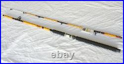 Nite Stick Catfish Spinning Combo 10' 2PC Rod Glow Tip Yellowith 9 BB Bait Runner