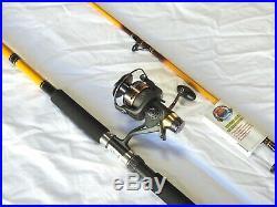 Nite Stick Catfish Spinning Combo 10' 2pc Rod / 9 BB Bait Runner Reel