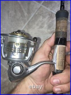 Okuma Guide Select Pro Trout Rod/pflueger Supreme Spinning Reel Combo