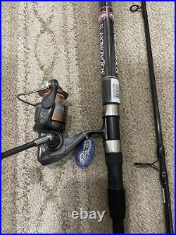 Okuma Raw combo Penn Rod perfect inshore set up