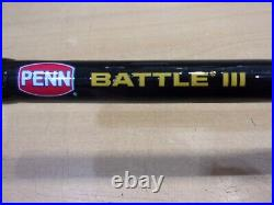 PENN BATTLE III SPINNING ROD and REEL TRAVEL COMBO 7 foot length 3 piece
