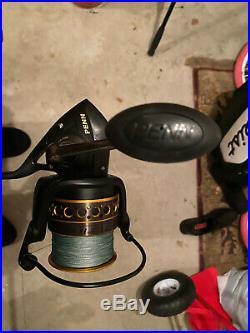 PENN Battle II 8000 Spinning Fishing 10' Surf Rod and Reel Combo