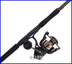 PENN Battle III Spinning Reel and Fishing Rod Combo, 7