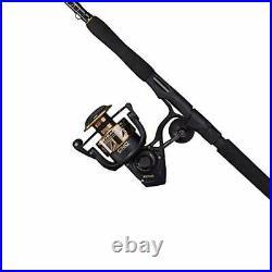 PENN Battle III Spinning Rod & Reel Combo, 2000 Reel Size 6'6 Medium Light