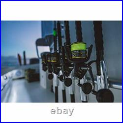 PENN Fishing Battle Spinning Reel and Fishing Rod Combo, 4000 Reel Size 7