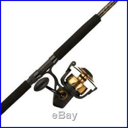PENN Spinfisher VI Spinning Reel and Fishing Rod Combo
