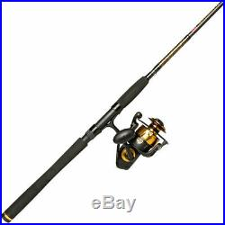 PENN Spinfisher VI Spinning Reel and Fishing Rod Combo Saltwater big game fish