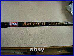 Penn 8' Battle II Spinning Combo Fishing Rod & Reel Ht-100
