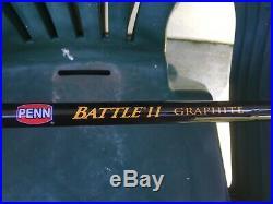 Penn BTLII8000102H Battle II Spinning Rod & Reel Combo