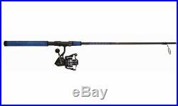 Penn BTLIIB2500701ML Battle II Spinning Rod & Reel Combo Blue