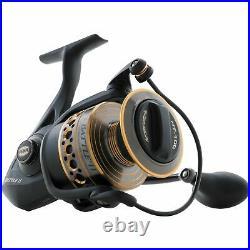 Penn Battle II HT100 Saltwater Spinning Fishing Reel and Rod Combo (Open Box)
