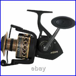 Penn Battle II HT100 Saltwater Spinning Fishing Reel and Rod Combo (Used)