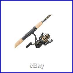 Penn Battle II Spinning Reel and Fishing Rod Combo Full Metal Body Multiple Size