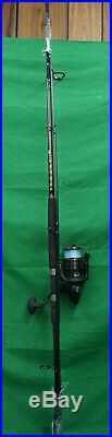 Penn Fierce II 8000 Spinning Fishing Reel & Squadron II Rod 10