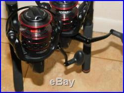 Penn Fierce II Graphite 7' 10-17 Lb Spinning Rods + Frcii 5000 Reel Combo Pair