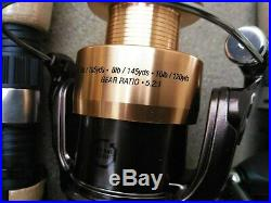 Pflueger Endeavor Spinning Combo 6'6 Graphite 2-Piece medium cork rod + reel