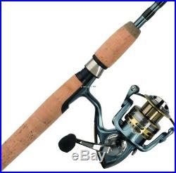 Pflueger PRESSP-5025ULCBO President 25 size, 10 Brg. 5.211 ratio, Spinning Rod