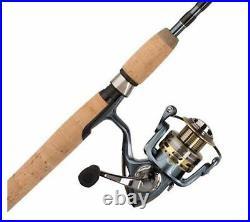 Pflueger President 6'6 Medium 2-Piece Fishing Rod/Spinning Reel Combo #1425618