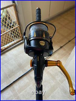 Phenix Mpx-s 800h 30-100 Megalodon Popping Rod & Penn Slamer III 9500 Tuna Combo
