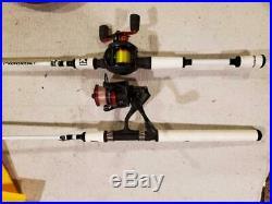 Profishiency Abu Garcia Blackmax 6' 6 Baitcaster Spinning Combo Rod Reel Set