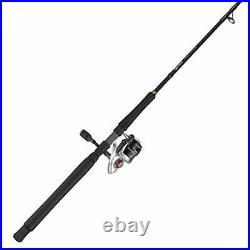 Quantum PT Reliance Spinning Reel and Fishing Rod Combo Graphite Rod Saltwate
