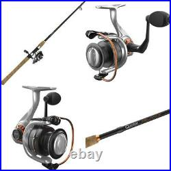 Quantum Reliance Spinning Reel And Fishing Rod Combo, Durable Graphite Rod With
