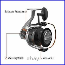 Quantum Reliance Spinning Reel and Fishing Rod Combo 7-Foot 1-Piece Fishing P