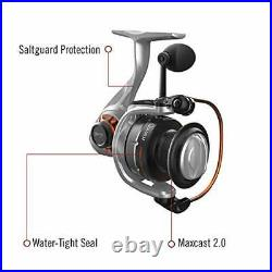 Quantum Reliance Spinning Reel and Fishing Rod Combo 7-Foot 2-Inch 1-Piece Fi