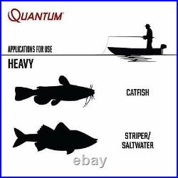 Quantum Reliance Spinning Reel and Fishing Rod Combo, 8-Foot 1-Piece Fishing Pol