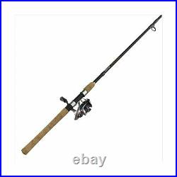 Quantum Reliance Spinning Reel and Fishing Rod Combo, Durable Graphite Rod wi