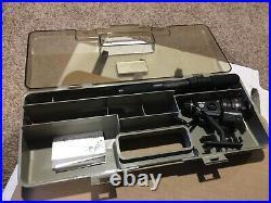 RARE Daiwa Minispin AG750 Ultralight Travel Spinning Rod Reel Combo & Case