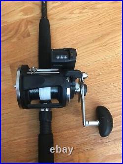 Rapala Fathom 2 Combo deep sea Fishing Heavy Action 2pc 6 12-30lb Test cod rod