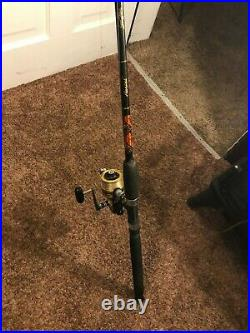 Rod&Reel Combo Penn 6500SS High Speed Saltwater Spinning Reel & Star Rod Areal