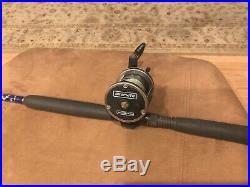 Seeker Hercules Custom wrap rod and Newell S338 3.6 combo