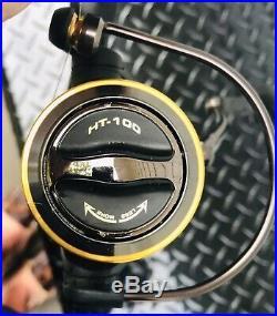 Set 4 Premium Fishing Shimano Tekota 500 Penn HT-100 Rod/Reel Combos