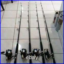 Set of 4! Shimano Sphero FA 12000 Reel and Custom Rod Combos (Ugly Stick)