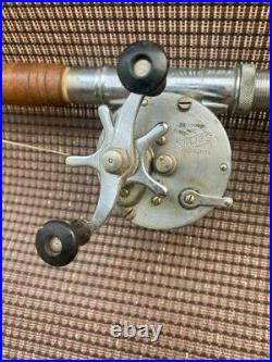 Shakespeare rod and reel combo 1944 GE Great Lakes Products