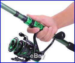 Sougayilang Fishing Rod and Reel Combos Carbon Fiber Telescopic Fishing Pole