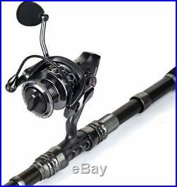 Sougayilang Spinning Fishing Rod and Reel Combos Portable Telescopic FishingPole