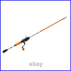 Speed Spinning Fishing Rod and Reel Combo 6.6 Light Weight Zero Reverse USA New