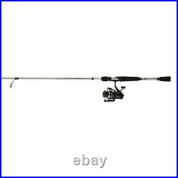 Spinning Rod Reel Combo Durable Machined Aluminum Spool Lightweight Graphite Rod