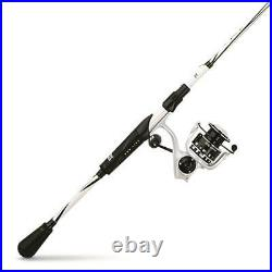 Spinning Rod Reel Fishing Combo Stainless Steel Guides Zirconium Coated Inserts
